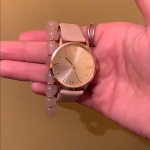 Jewelry - Watch and bracelet